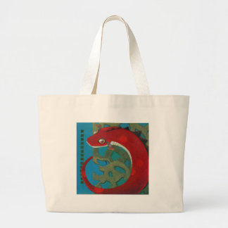 Desire the Dragon Large Tote Bag