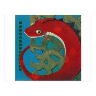 Desire the Dragon Postcard