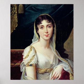 Desiree Clary  Queen of Sweden, 1807 Poster