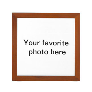 Desk Organizer, add your own favorite photo. Desk Organizer