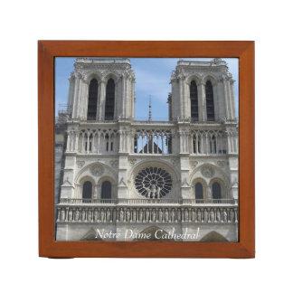 Desk Organizer--Notre Dame Cathedral Desk Organizer