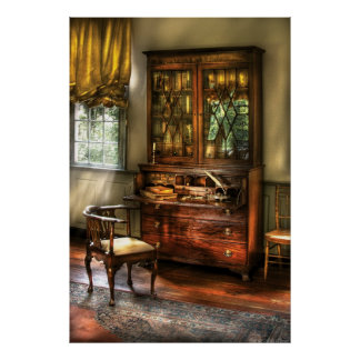 Desk - The Study Poster