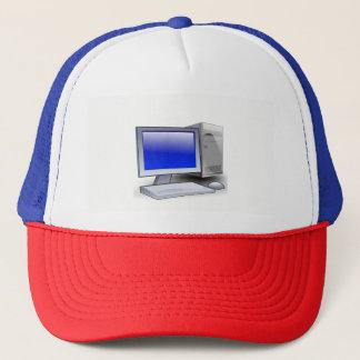 Desktop Computer Trucker Hat