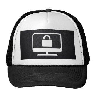 Desktop Locks Icon Trucker Hat
