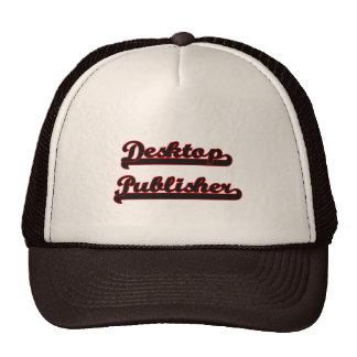 Desktop Publisher Classic Job Design Trucker Hat
