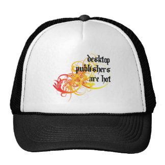 Desktop Publishers Are Hot Trucker Hats