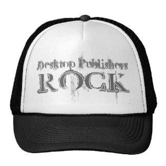 Desktop Publishers Rock Mesh Hats