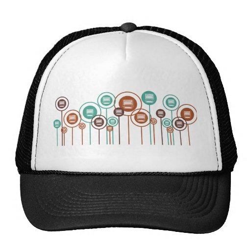 Desktop Publishing Daisies Trucker Hat
