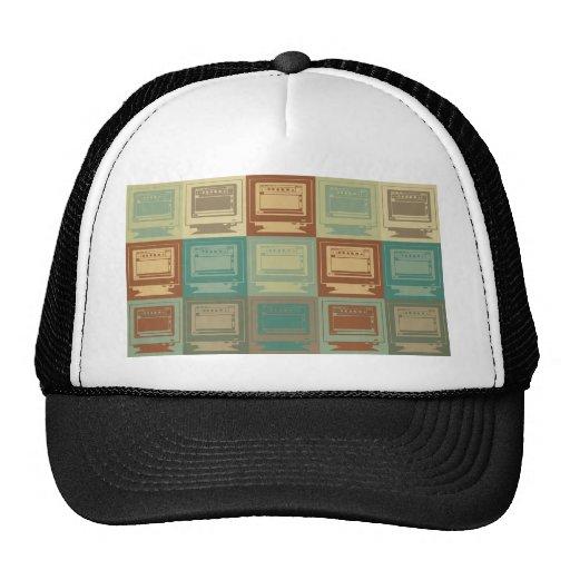 Desktop Publishing Pop Art Hats