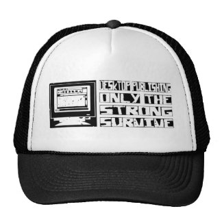 Desktop Publishing Survive Mesh Hat