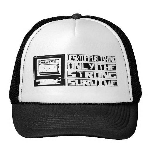 Desktop Publishing Survive Mesh Hat