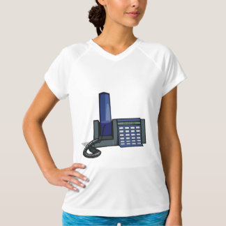 Desktop Telephone Womens Active Tee
