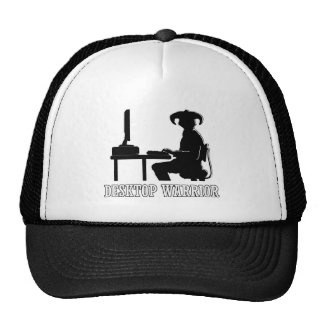 Desktop Warrior Trucker Hat
