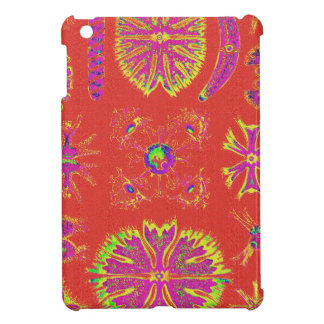 Desmidiea on Burnt Orange iPad Mini Cover