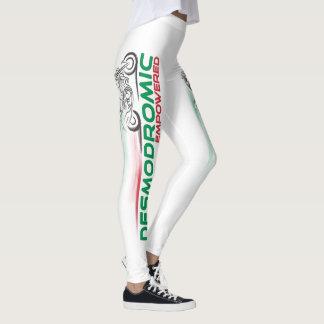Desmodromic Empowered - Custom Leggings White