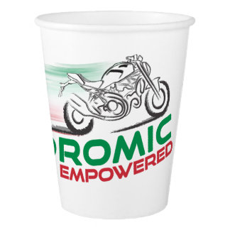 Desmodromic Empowered - Original Paper Cup, 9 oz Paper Cup