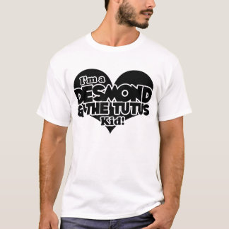 Desmond & The Tutus - Classic Black T-Shirt