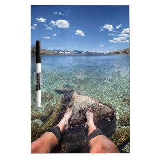 Desolation Lake - Sierra Dry Erase Board