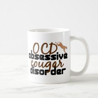 Désordre obsédant de puma mug