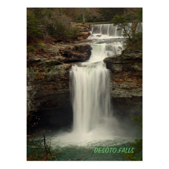 Desoto Falls Post Card