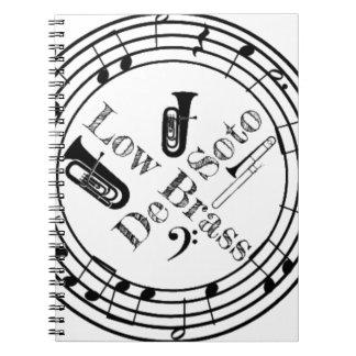 Desoto Low Brass Gear Notebook