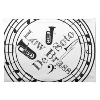 Desoto Low Brass Gear Placemat