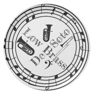 Desoto Low Brass Gear Plate
