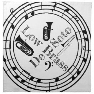 DeSoto Low Brass Napkin
