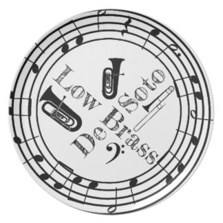 DeSoto Low Brass Plate