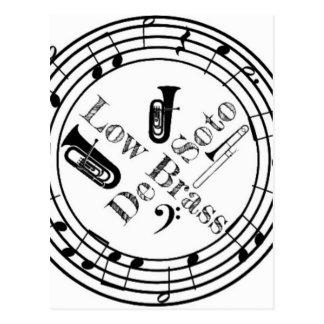 DeSoto Low Brass Postcard