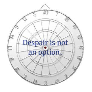 Despair is not an Option Dartboard