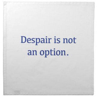 Despair is not an Option Napkin