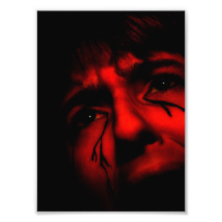 Despair save tears crying lonely screaming hope photo print