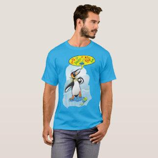 Desperate king penguin saying bad words T-Shirt