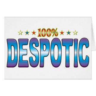 Despotic Star Tag v2 Cards