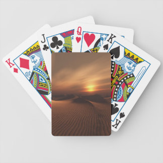 Desrt Rain Bicycle Playing Cards