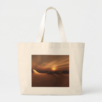 Desrt Rain Large Tote Bag