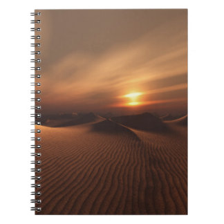Desrt Rain Notebook
