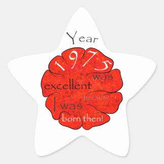Dessalinia - Year 1975 Star Sticker