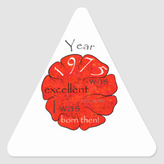 Dessalinia - Year 1975 Triangle Sticker