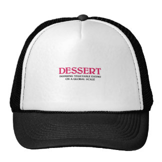 Dessert and Vegetables (pink edition) Trucker Hat