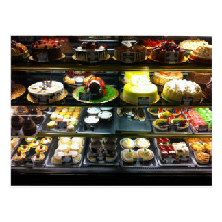 Dessert Display Case Postcard