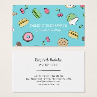 Dessert Doodles | Bakery Business Card