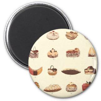 Dessert Fancies 2 Inch Round Magnet