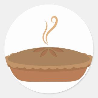Dessert Pie Round Sticker