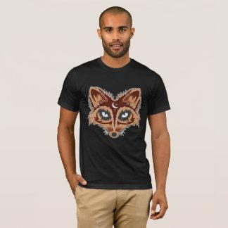 Dessin artistique de Fox T-shirt