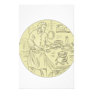 Cuisine cuisinier papier lettre papier lettre cuisine for Cuisinier francais 7 lettres