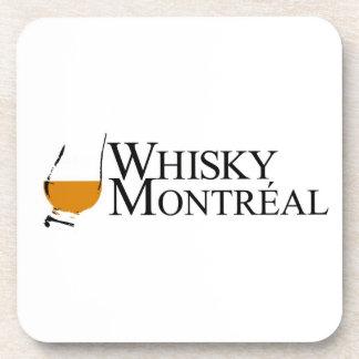 Dessous de verre de Montréal de whiskey Sous-bocks
