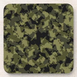 Dessous-de-verre Motif militaire de style de camouflage