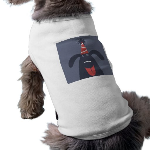 Dessus de réservoir de chien d'anniversaire pour d manteaux pour animaux domestiques